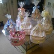 Nappy cakes and gifts by Linda.